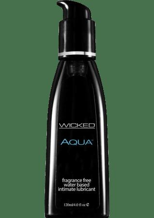 Aqua Water-Based Lubricant (4 oz)