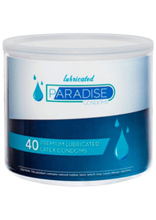 Paradise Condoms (40/bowl)