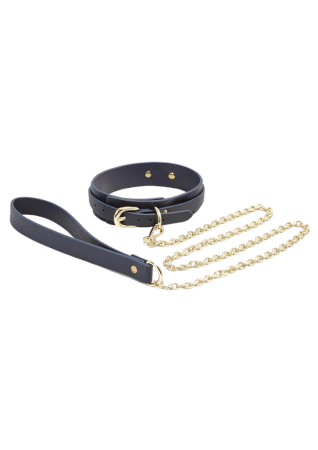 Bondage Couture Collar & Leash