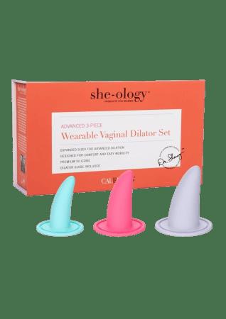 She-Ology 3-Piece Advanced Vaginal Dilator Set