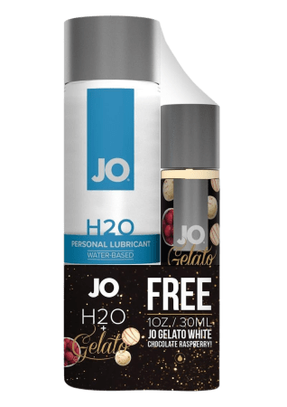 JO H2O Water-Based Lube Limited Edition Pack (4 oz + 1 oz)