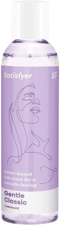 Satisfyer Gentle Classic Water-Based Lube (10 oz)