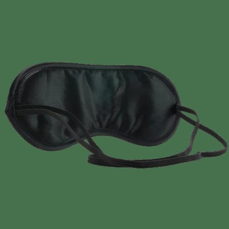 Satin Black Blindfold