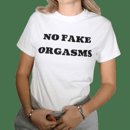 No Fake Orgasms
