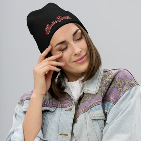 Balls Deep Embroidered Beanie