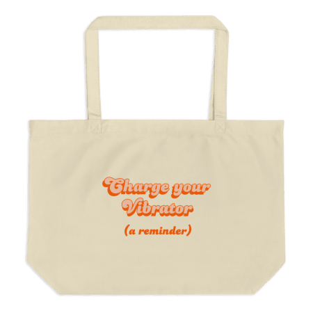 Charge Your Vibrator Tote