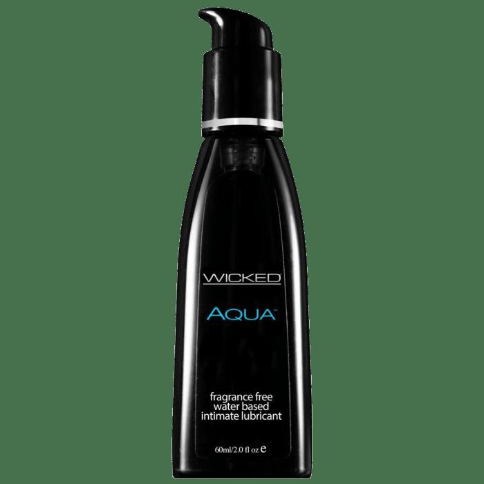 Aqua Water-Based Lubricant (2 oz)