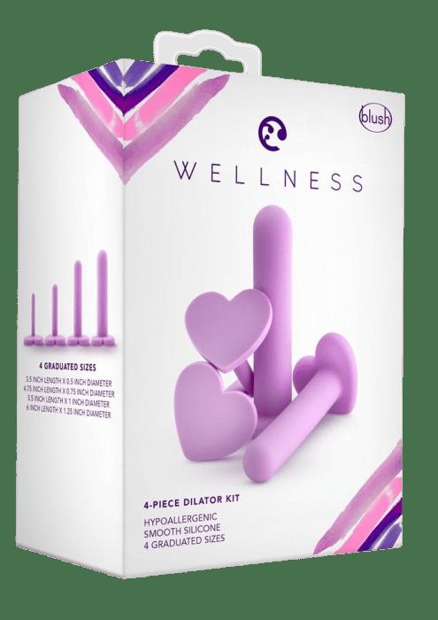 Wellness 4-Piece Vaginal Dilator Kit