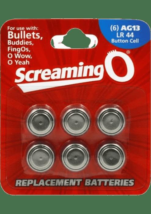 Screaming O AG13 LR44 Batteries