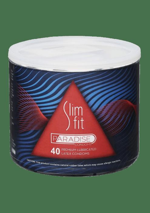 Slim Fit Paradise Condoms (40/bowl)