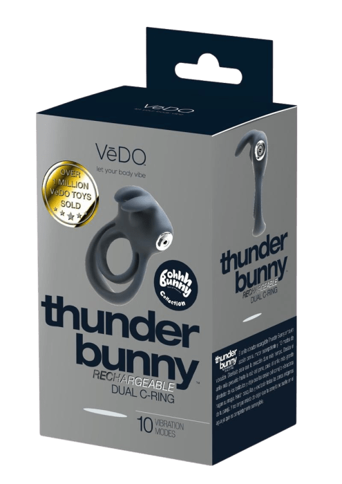 Thunder Bunny Rechargeable Dual Cock Ring