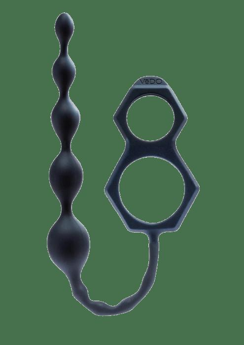 Scorpio Cock Ring x Beaded Anal Chain