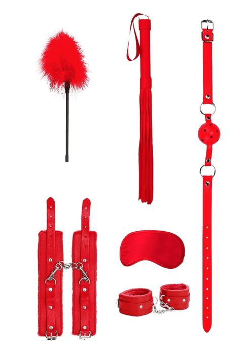 Ouch! Introductory Bondage Kit (6pc)