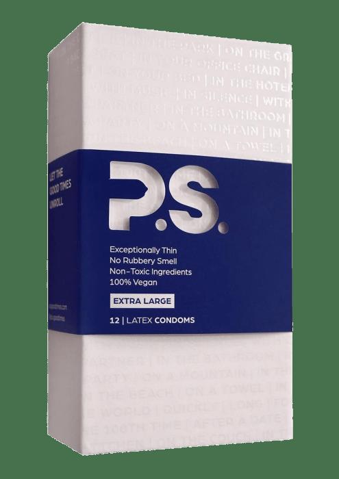 P.S. Extra Large Latex Condoms (12/pack)