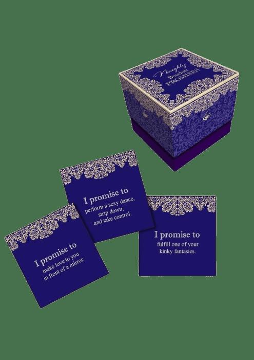Naughty Boudoir Promises Card Game
