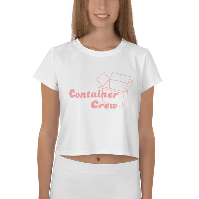 Container Crew Crop Top