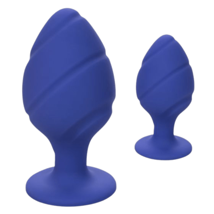 Cheeky Textured Anal Plugs (Set of 2)